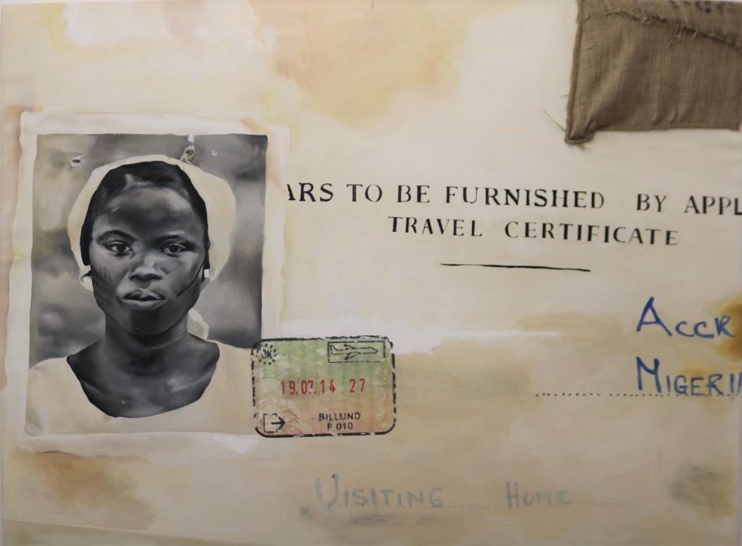 'Ayekoo' by Annie-Marie Akussah, 2018
