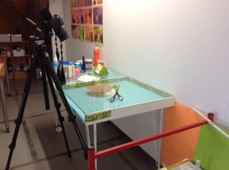 Studio Shot, Trelex Residency, 2015.