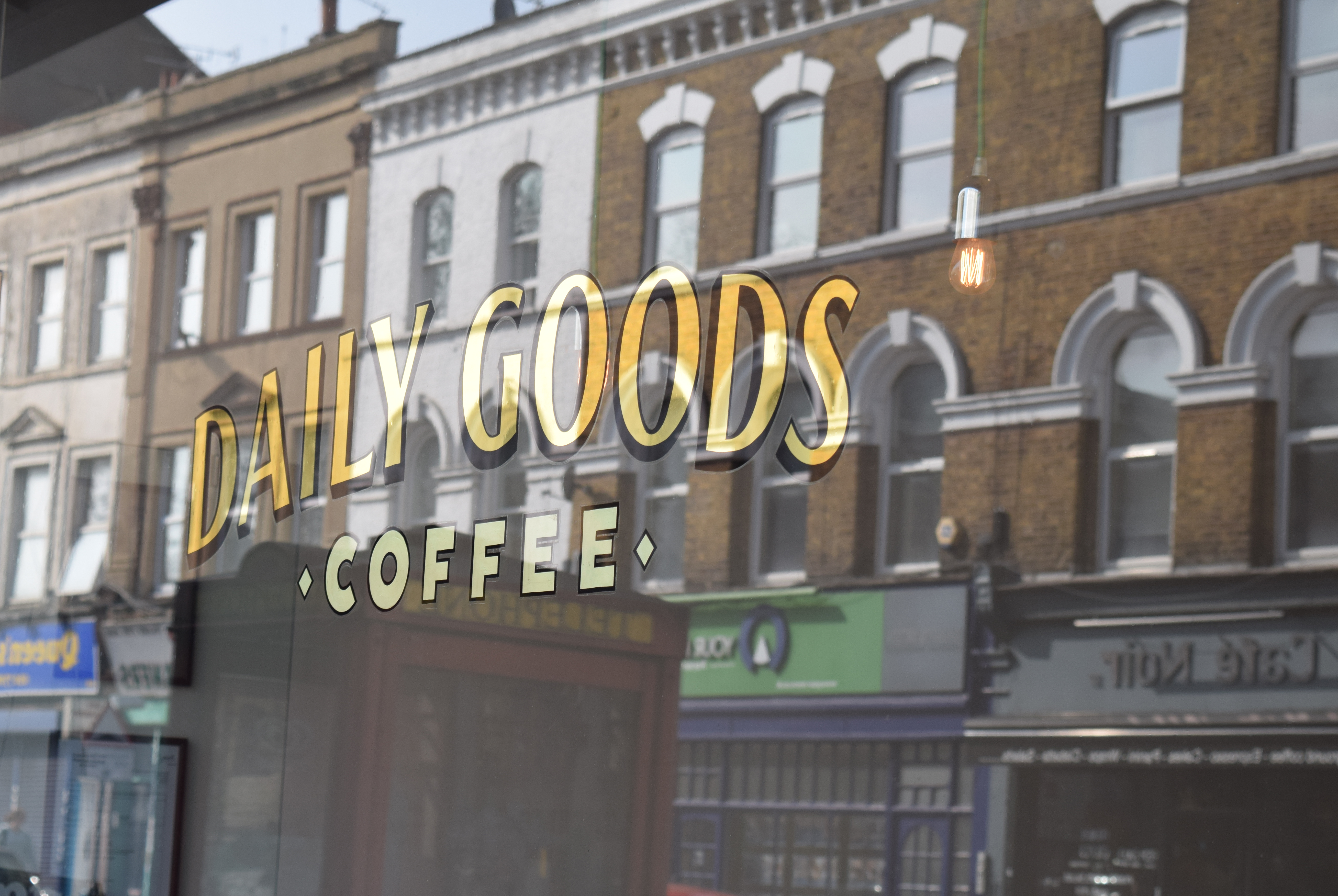 Daily Goods café in Camberwell