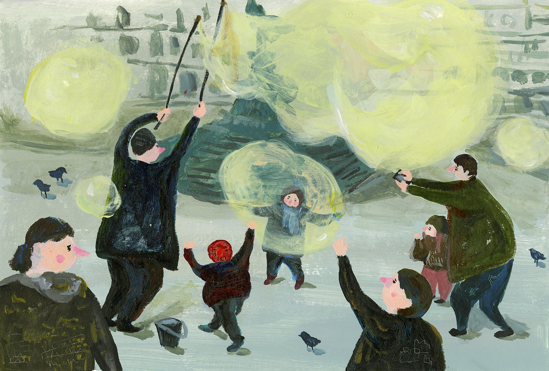 work by Taoyu Li BA Illustration