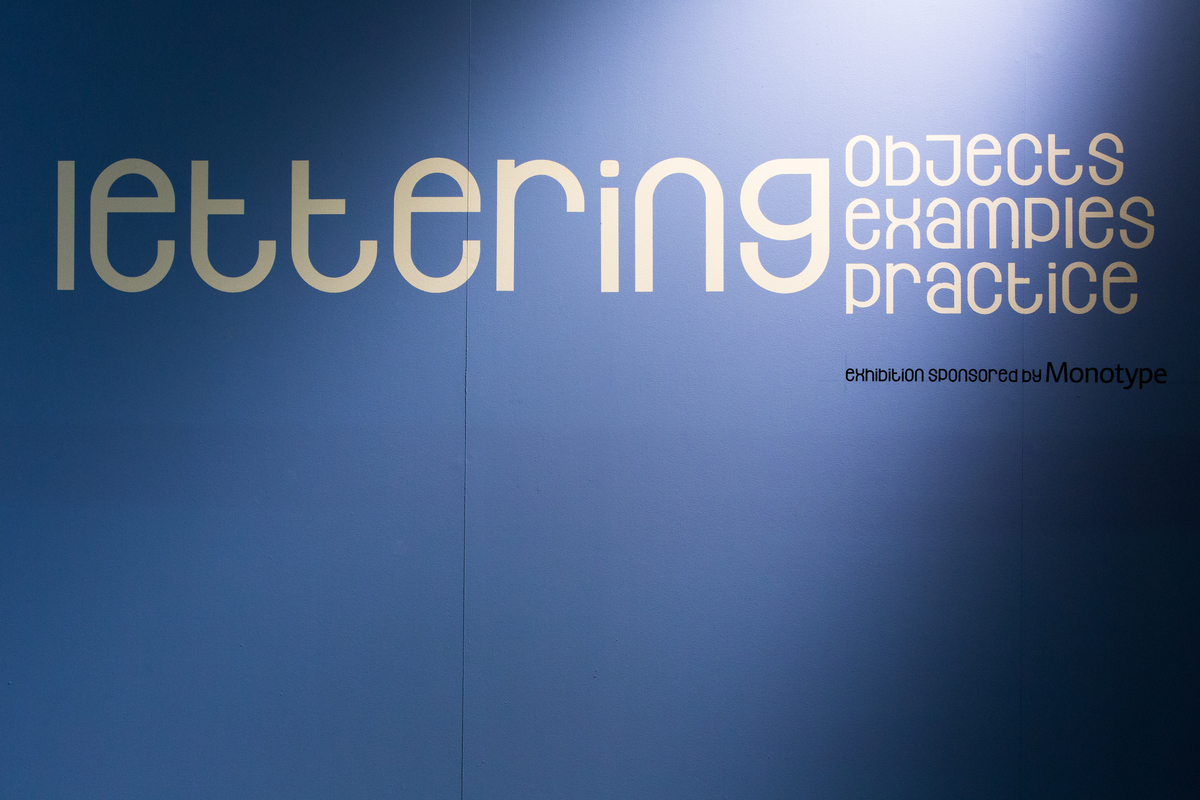History of Lettering and Type. Lethaby Gallery. CSM.                            25/February/2014