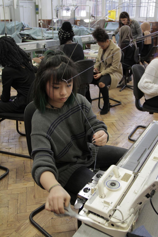LCF Insights Spring School - Knitting
