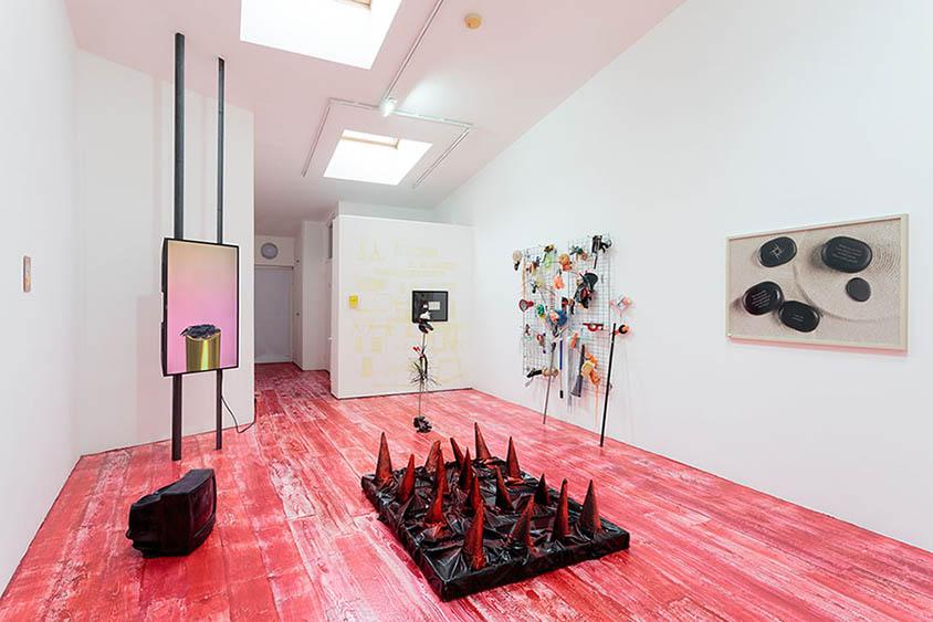 Installation views of Solopreneur at Kingsgate Workshops 12th November to 17th December 2016