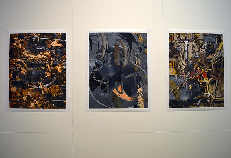 Neil Drabble, 'Untitled' 2016, inkjet prints