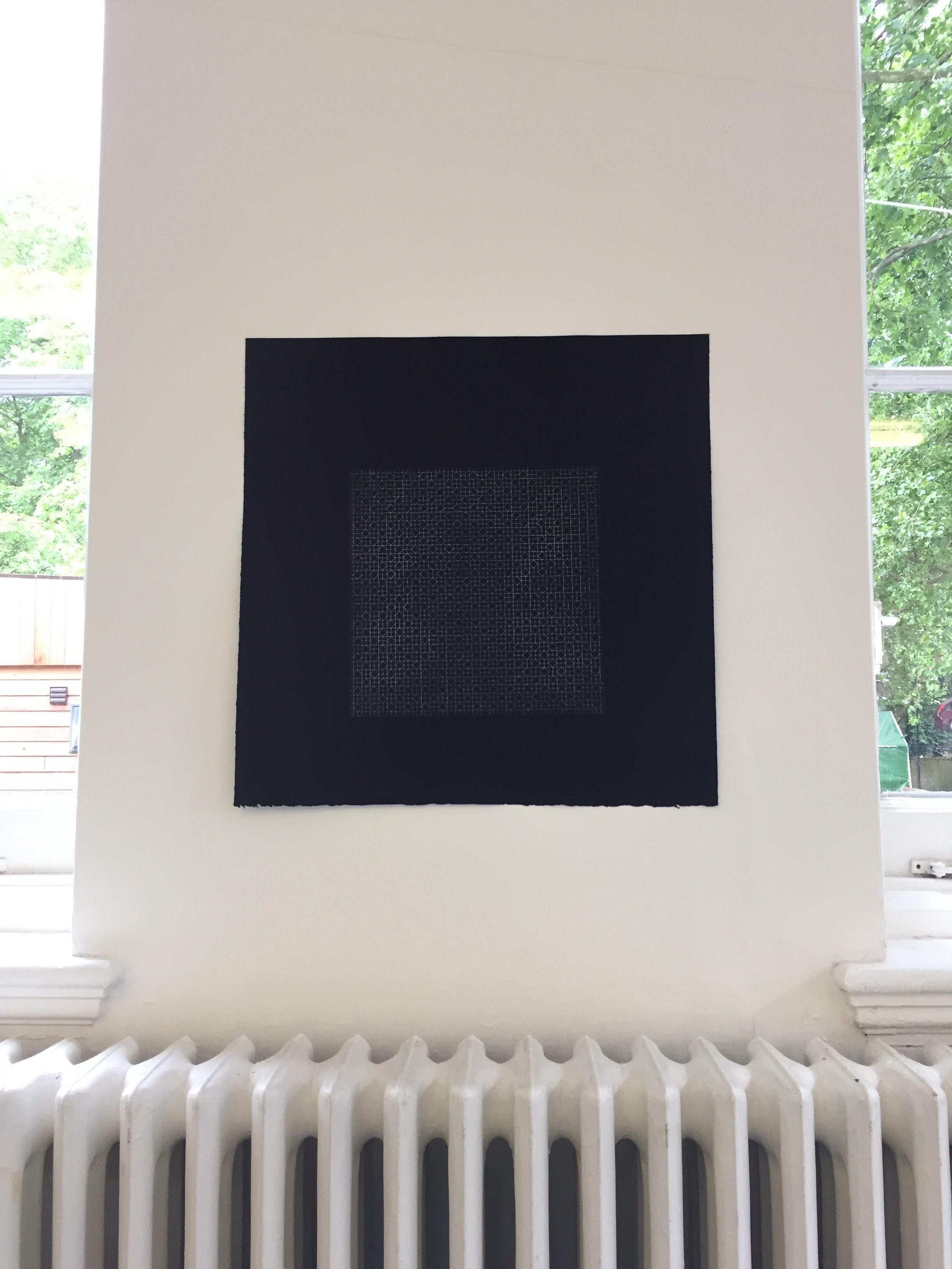 'a=b(black)' by Fei In Leong