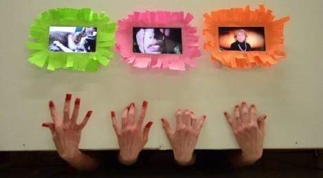 Bad Limbs, Still from 1 minute video clip, 2015.