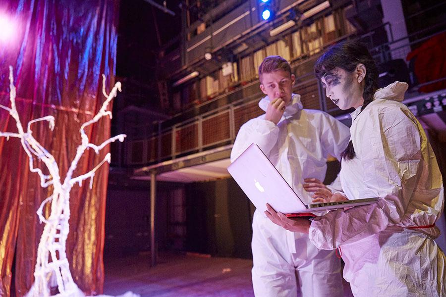 BA Contemporary Theatre and Performance, Wimbledon College of Arts, pic credit Arnel de Serra