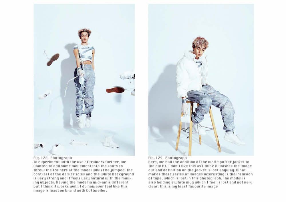BA (Hons) Creative Direction for Fashion student Esme Plumb.