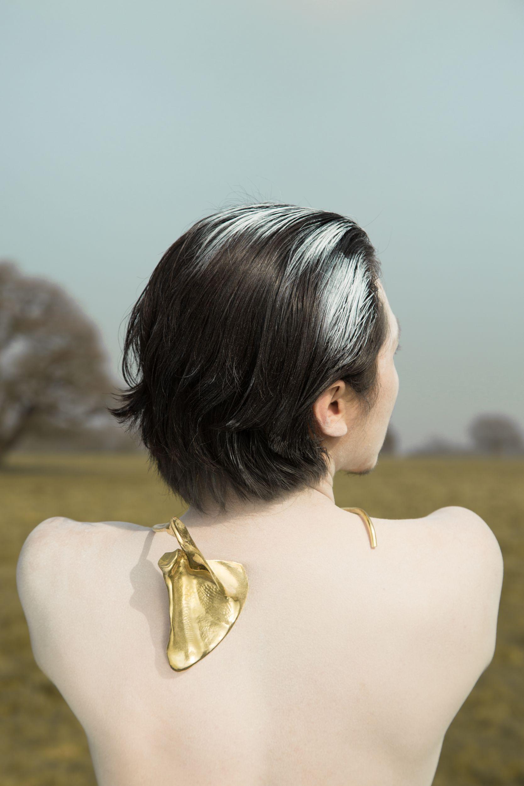 Ching-Hui Yang's final collection. Photo credit: Steven Chuan-Shun Huang. Model: Jay Walker.