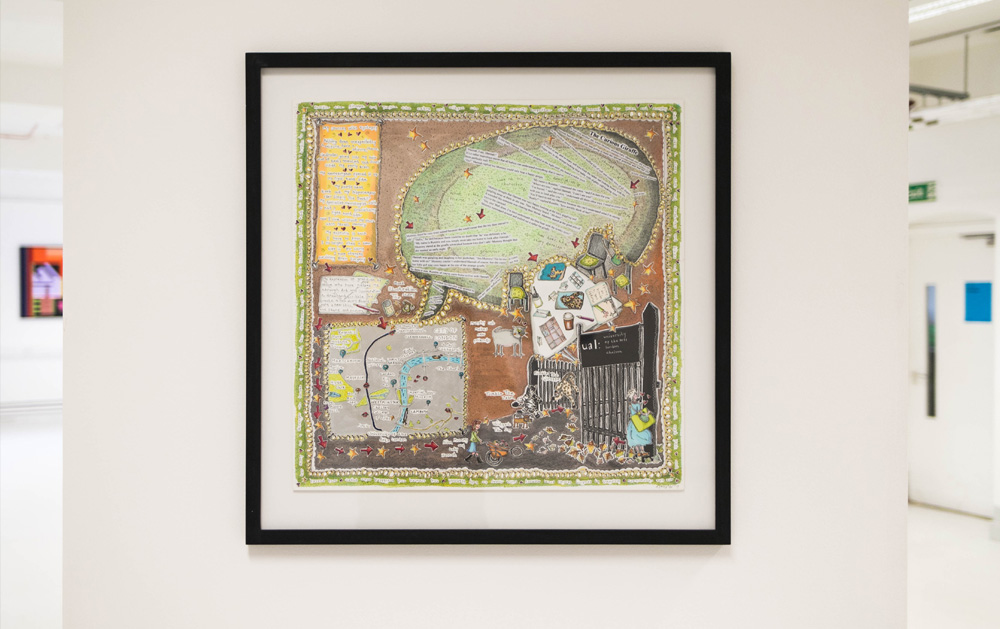 Rebbeca's exhibition piece.