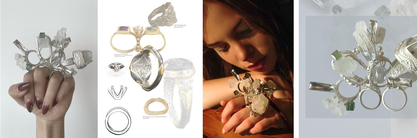 Kiki Tianqi Li, Year 3 BA Fashion Jewellery