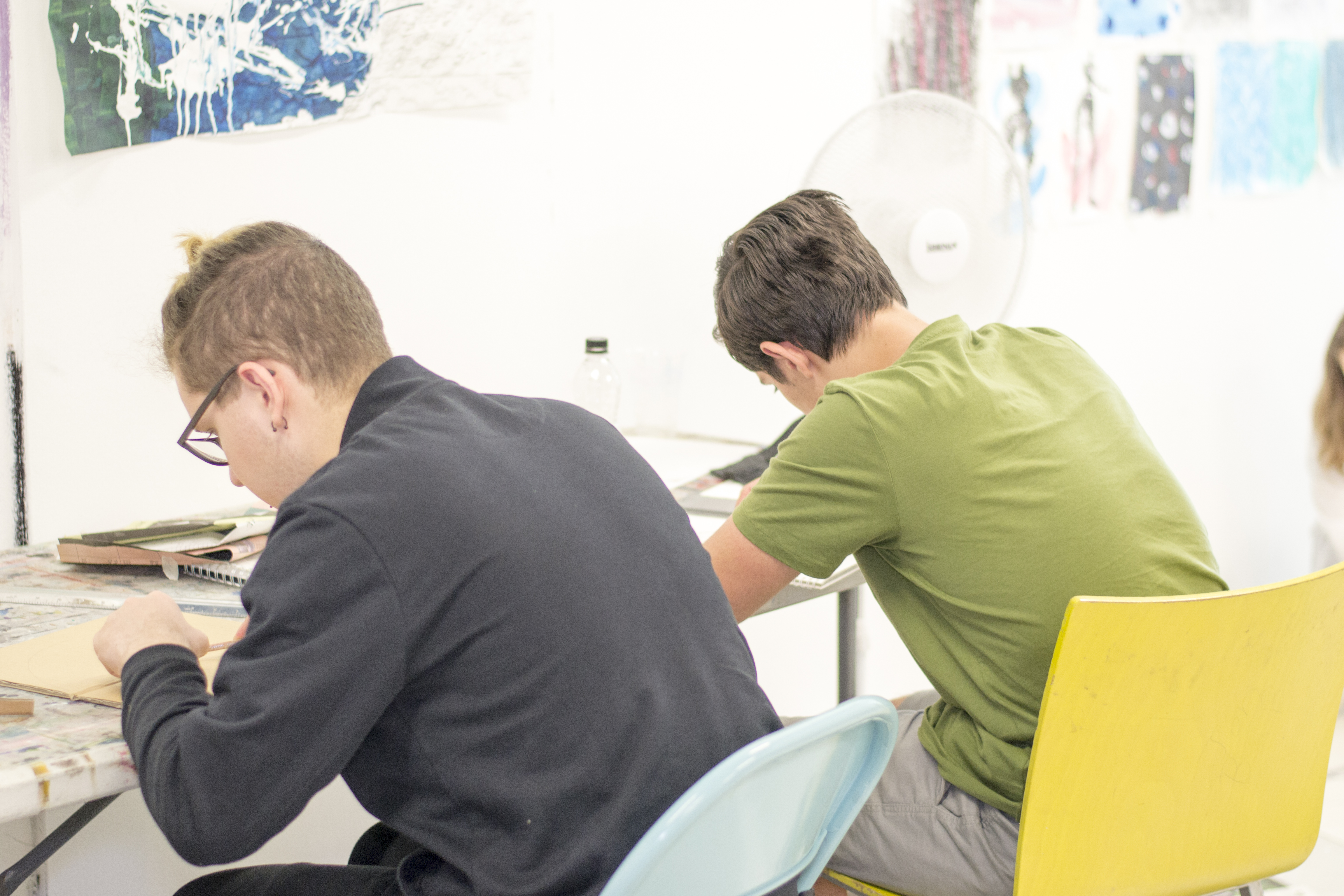 Pre-Foundation Portfolio Preparation at Camberwell for 16-18 Year Olds