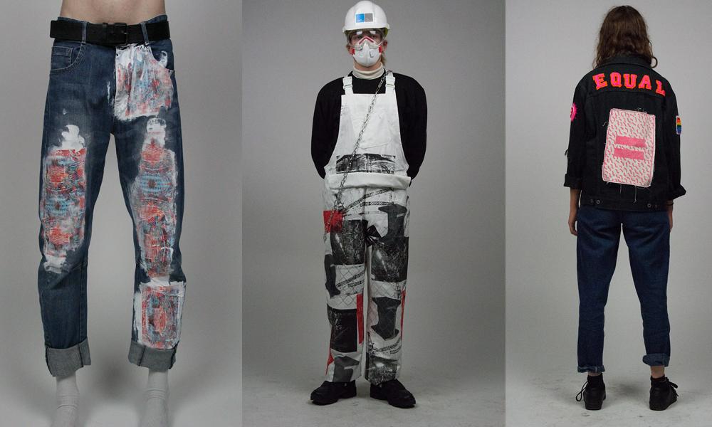 Zip File Fashion Show photoshot