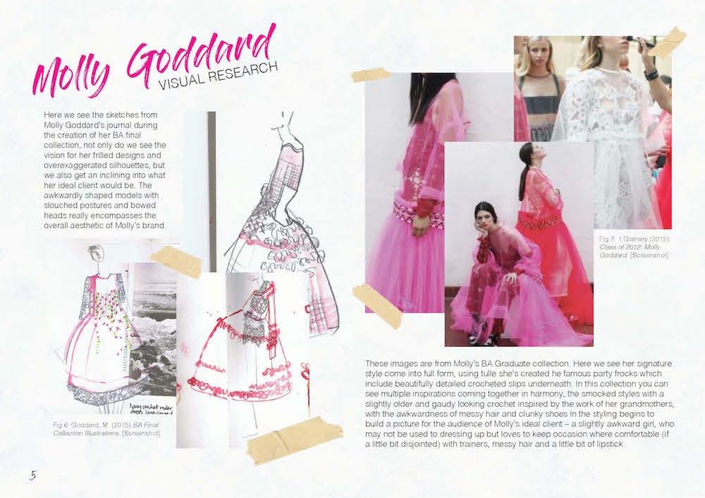 BA (Hons) Creative Direction for Fashion student Ki Griffin-Anker.