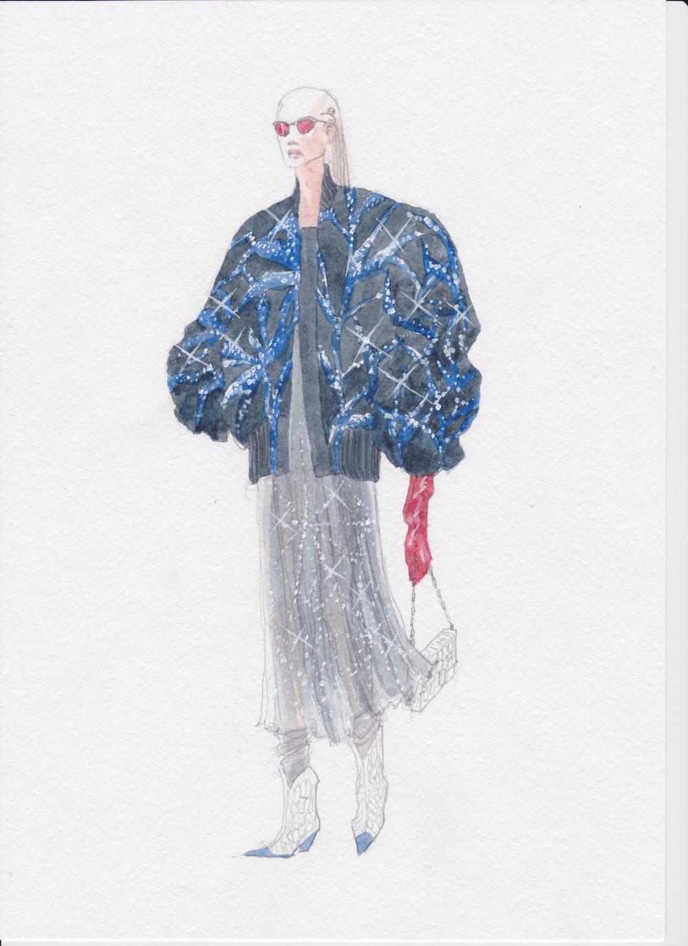 MA Fashion Design Technology Womenswear student Dmitry Gotsfrid wins Armani competition.