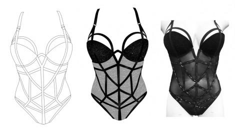 Concepts by BA (Hons) Fashion Contour student Candice
