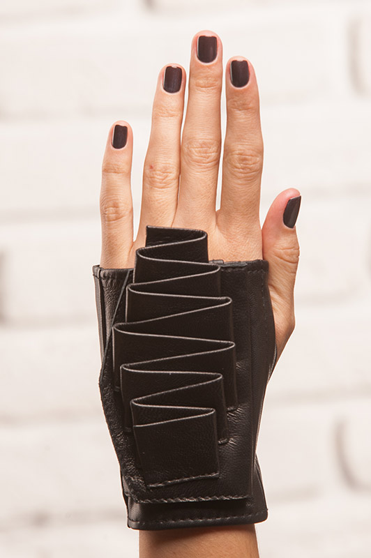 Gloves designed by Lina Sych