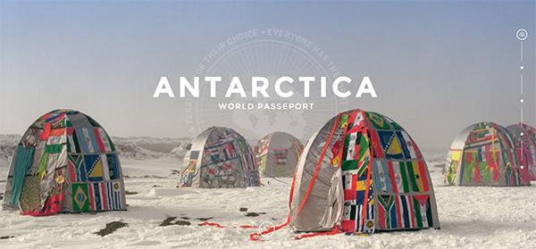 Antarctica World Passport Bureau Lucy and Jorge Orta