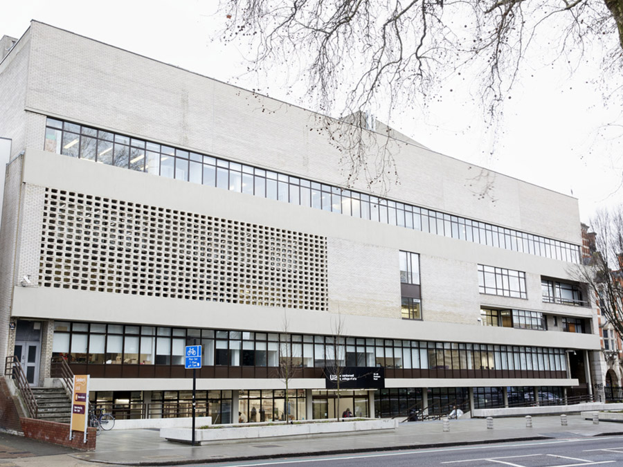 Camberwell College of Arts restored 1970s facade and now includes a fully accessible entrance and brand new gallery, Camberwell Space