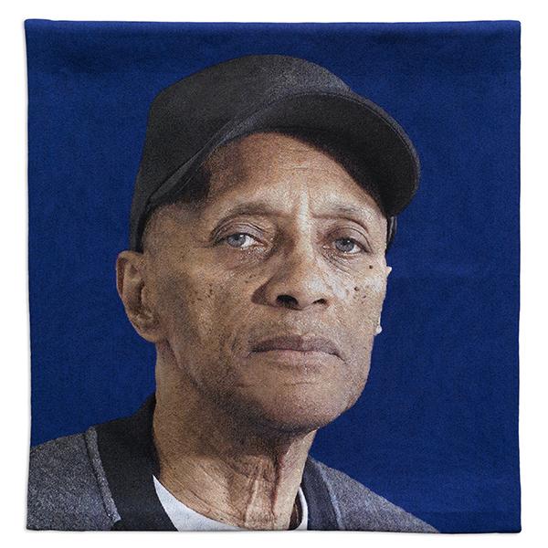 'Bertran' a portrait by artist Faisal Abdu'Allah