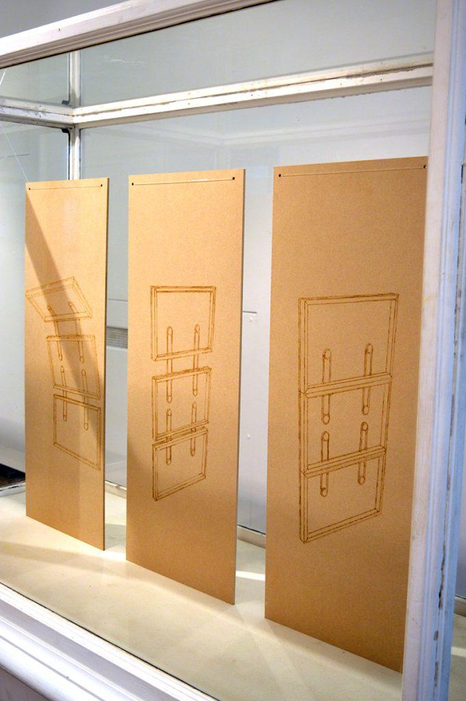 Queenie Clarke installation 2016