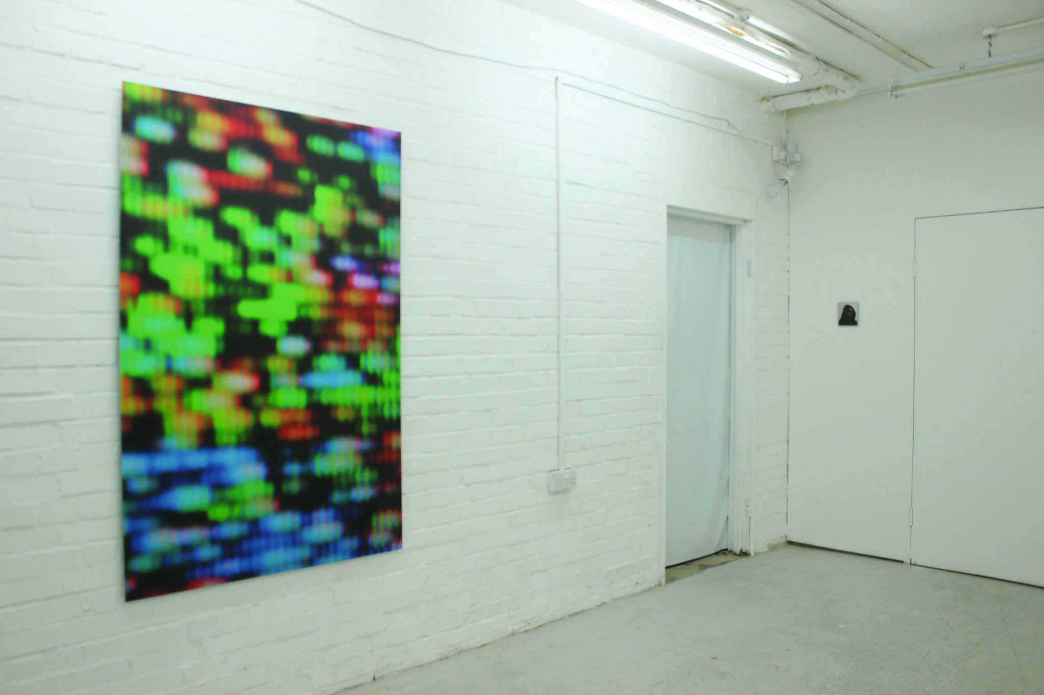 Installation view, image courtesy of the artist Gabriel Molina