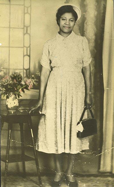 Emmeline Cetira Thomas, 1955, Birmingham, England. Image courtesy: author's collection.