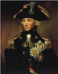 L.F. Abbott, Rear-Admiral Horatio Nelson, 1799. Photograph: NMM