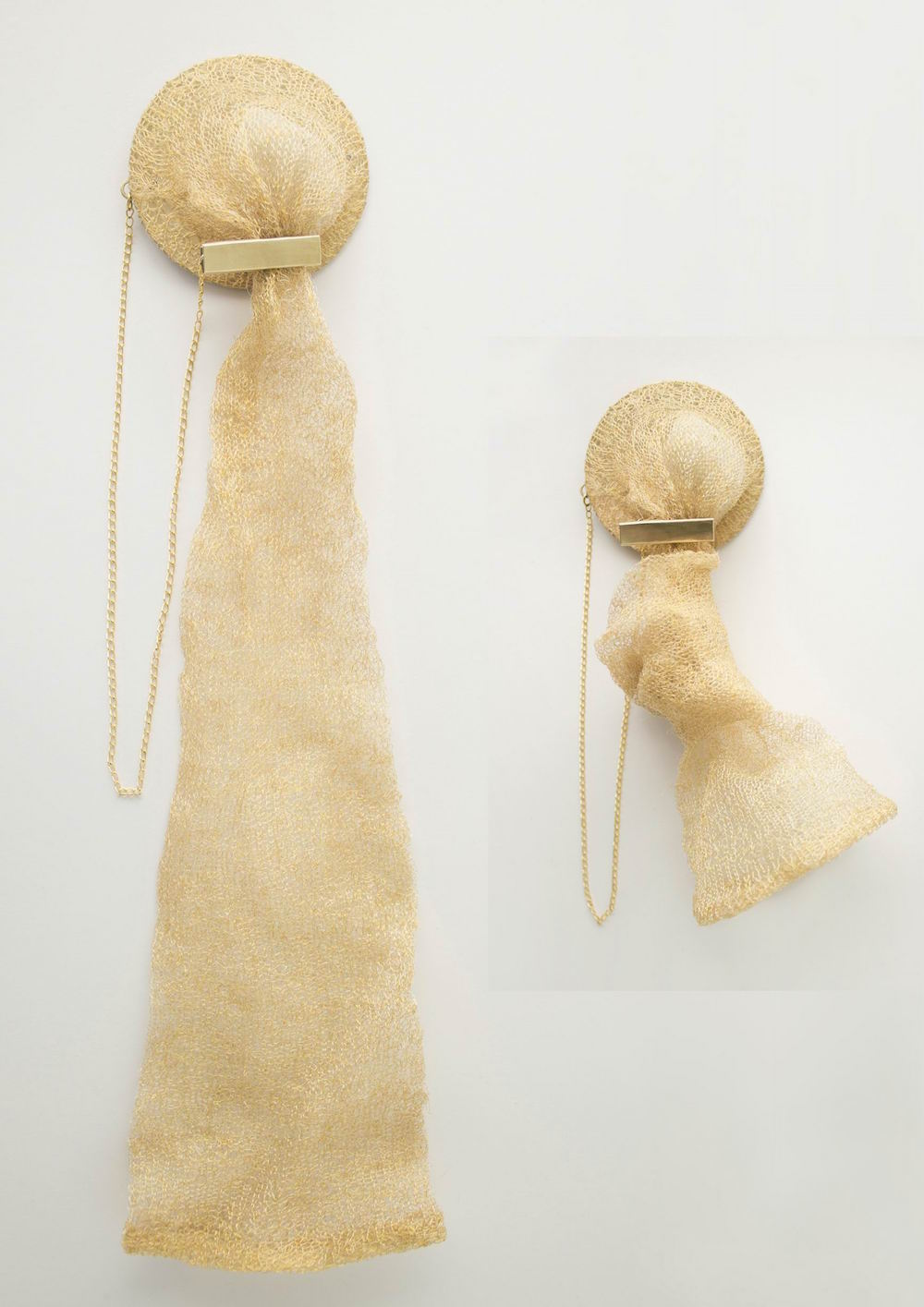 Holder Brooch 1 by BA (Hons) Fashion Jewellery graduate Suinan Li.