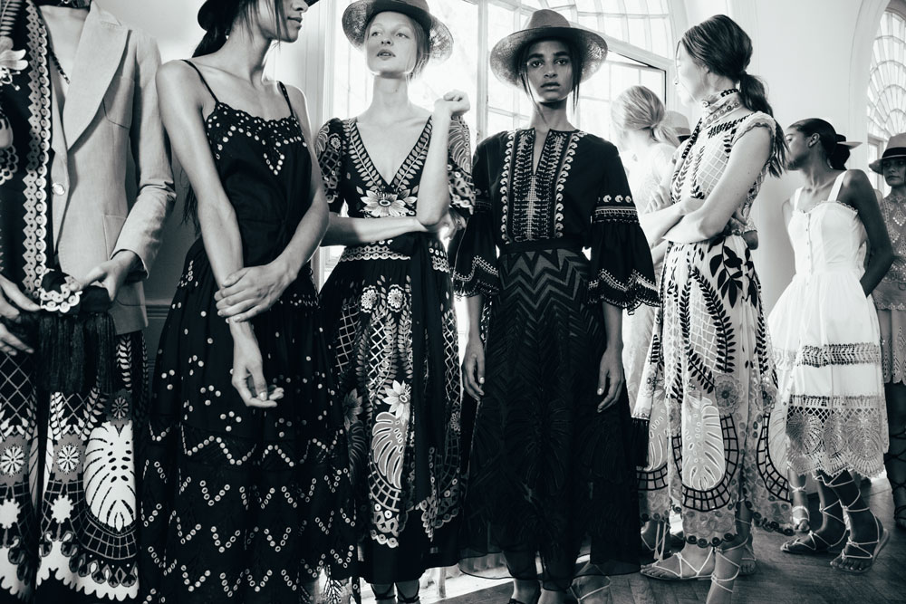 London Fashion Week AW16. Photograph by Thurstan Redding