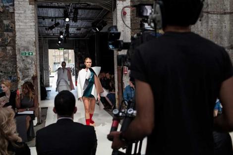 Photography: Anders Birger. Collection: Chun Yin Mok, BA Fashion Design Technology: Womenswear