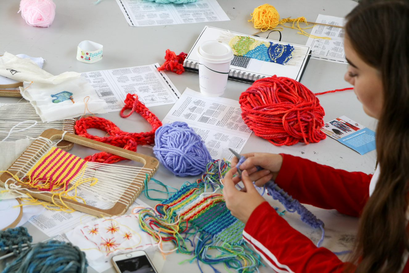 Textile Art for 16 to 18 Year Olds