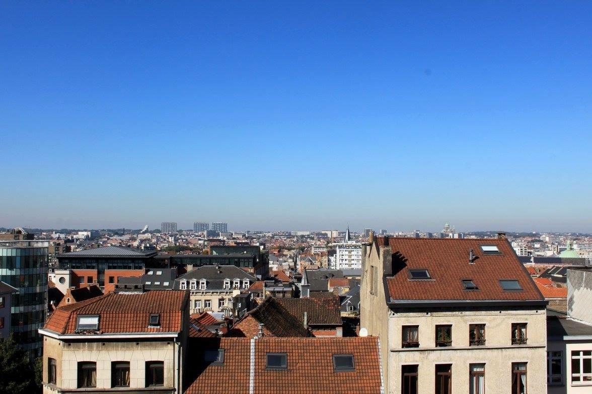 Rooftops in Brussels, Isabel Ferguson