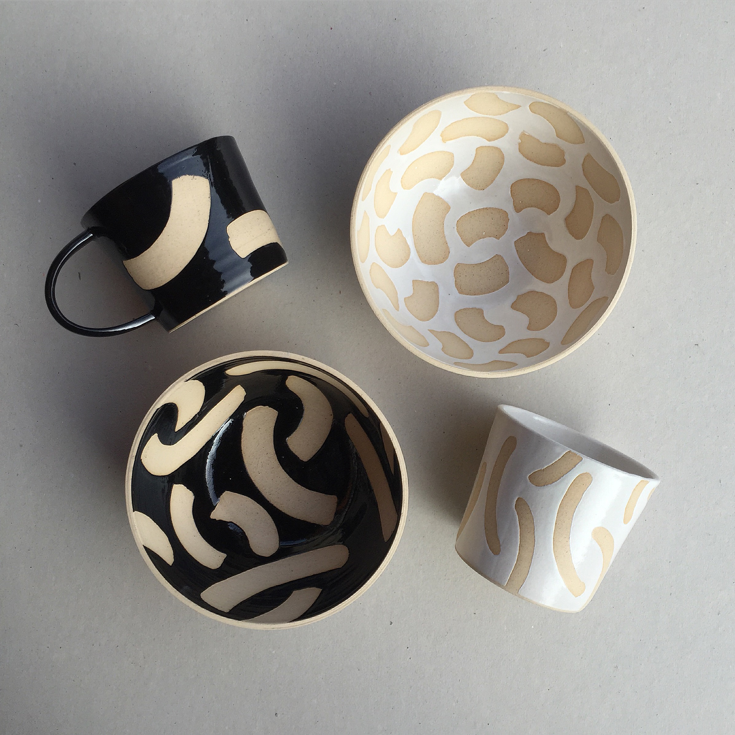 Hannah Bould pottery selection