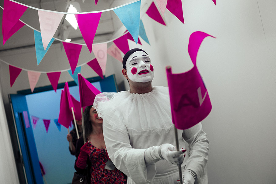 Will You Be Mime, Wimbledon College of Arts, Antonis Sideras