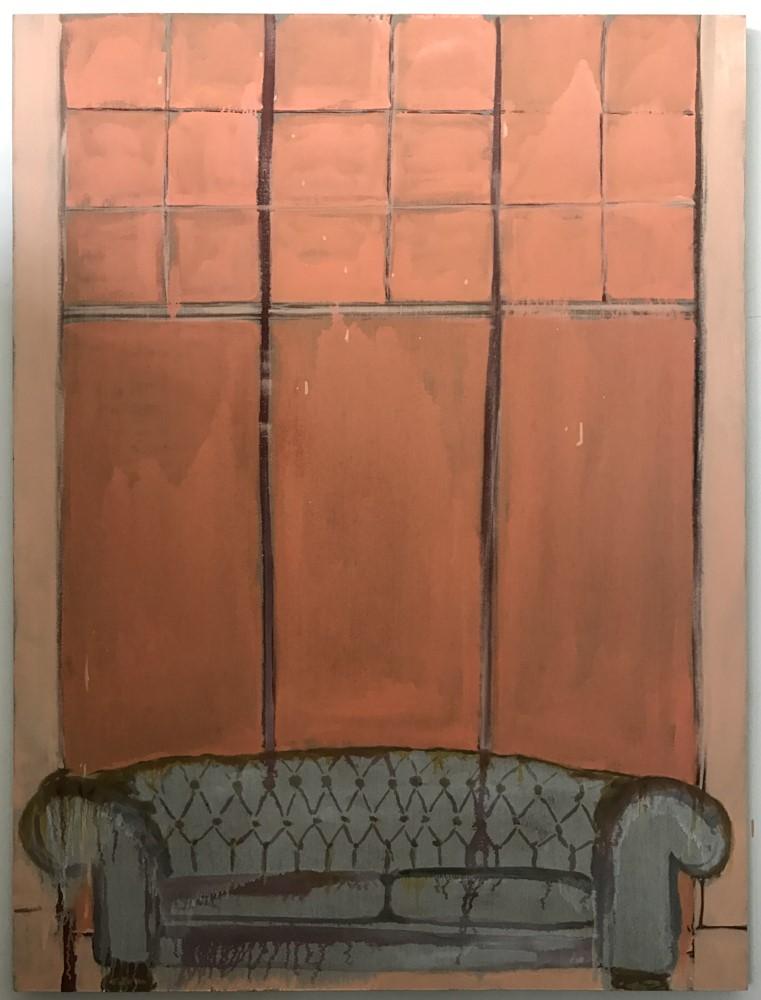 Rhapsody, 2017, oil on linen, 180 x 135 cm