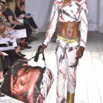 Mowalola Ogunlesi, BA Fashion Print (photo: catwalking.com)