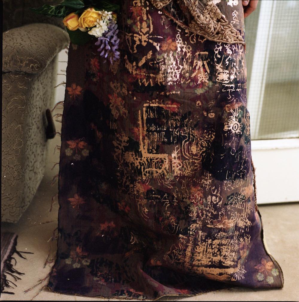 BA (Hons) Fashion Textiles: Print graduate Malik Kydd for LCF BA17.