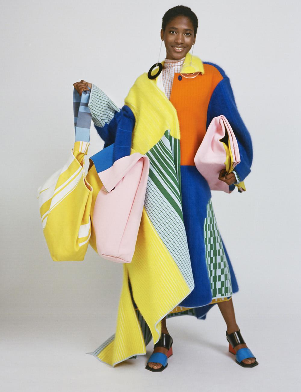Chen Zhi – MA Fashion Design Technology Womenswear, 2017; Photography by Felix Cooper, styling by Anders Sølvsten Thomsen, hair Roxy Attard, make-up artist Celia Burton; model Yasmina Atta.