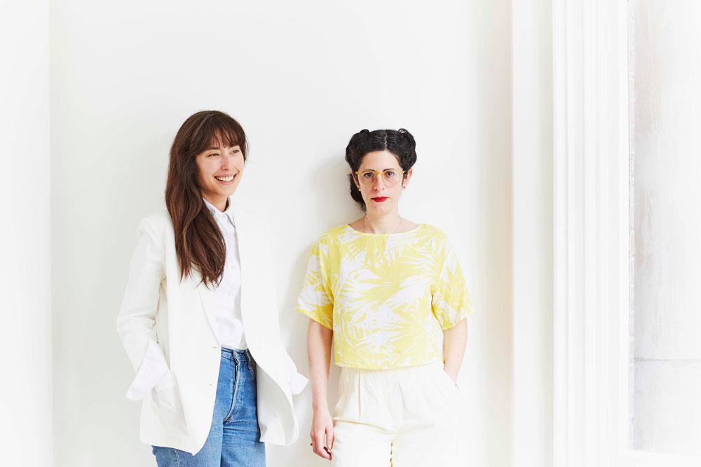 MA Fashion Curation alumnas, Fiona McKay and Xenia Capacete Caballero.