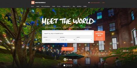 Meet the world screenshot from website