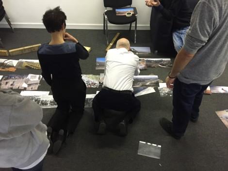 Jan Van Toorn workshop, 2015. Image credit: Rebecca Worth.