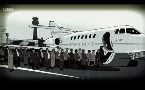 uriah heep plane