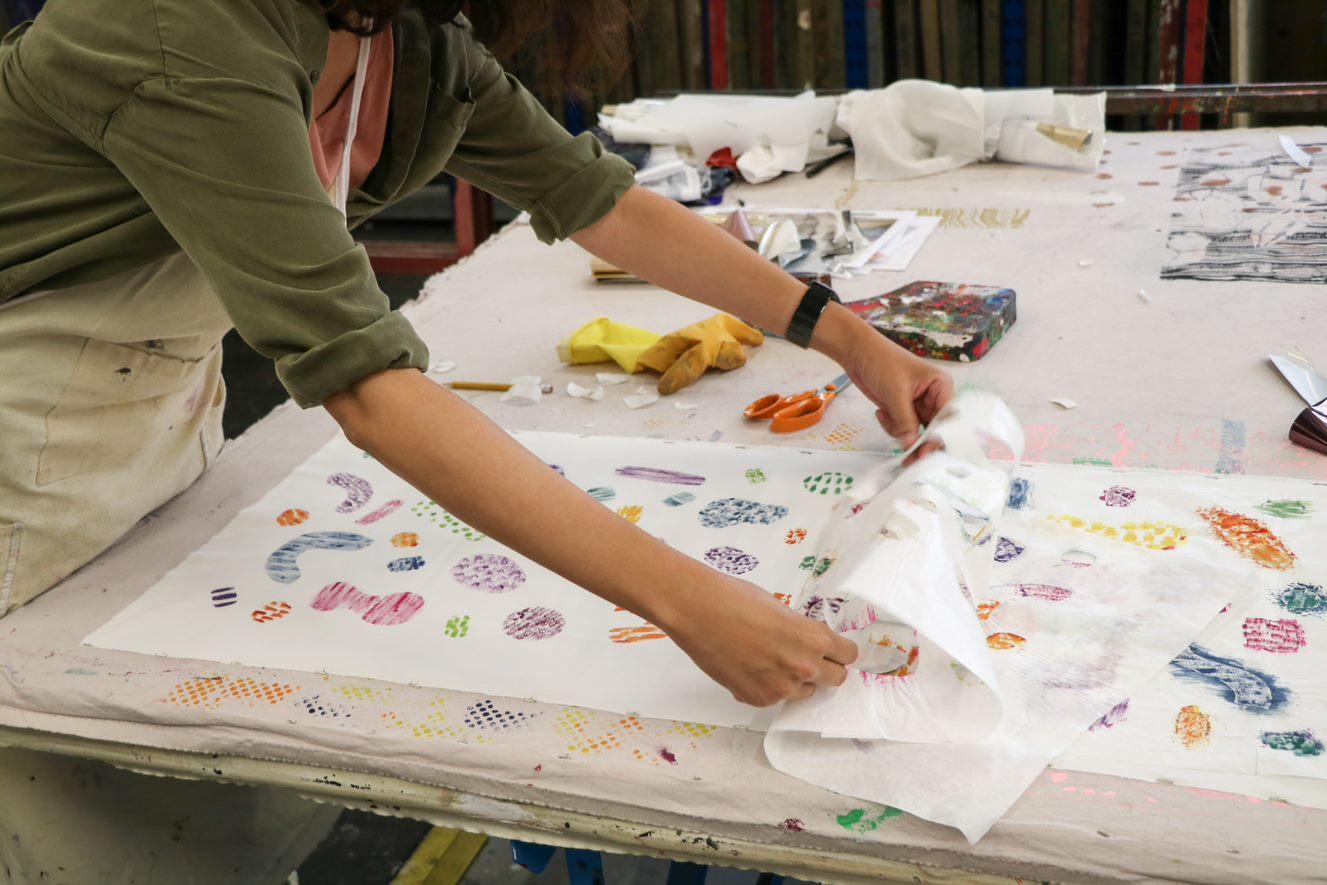 Textile Workshop - Designing on Fabric