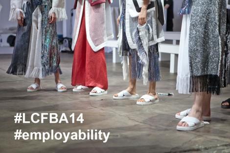 The LCFBA14 Employability tweetchat. Photo: Iris Bjork, BA (Hons) Fashion Styling and Photography