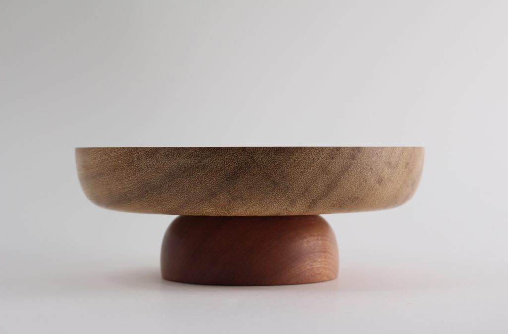 Wood turning, early experiments by Jackson Mann