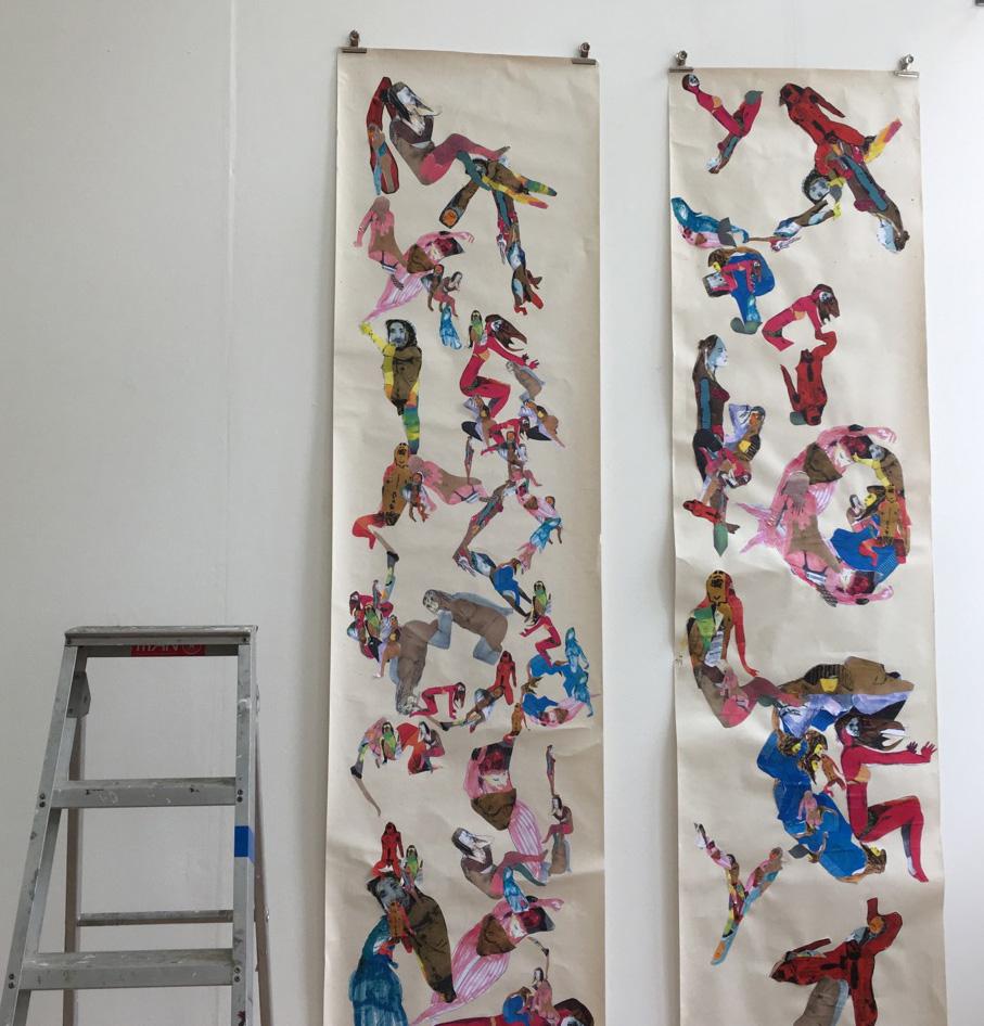 Ollie Barberi's work, FdA student