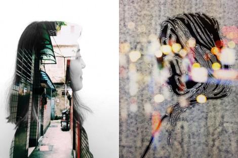 Audrey Wong digital collage