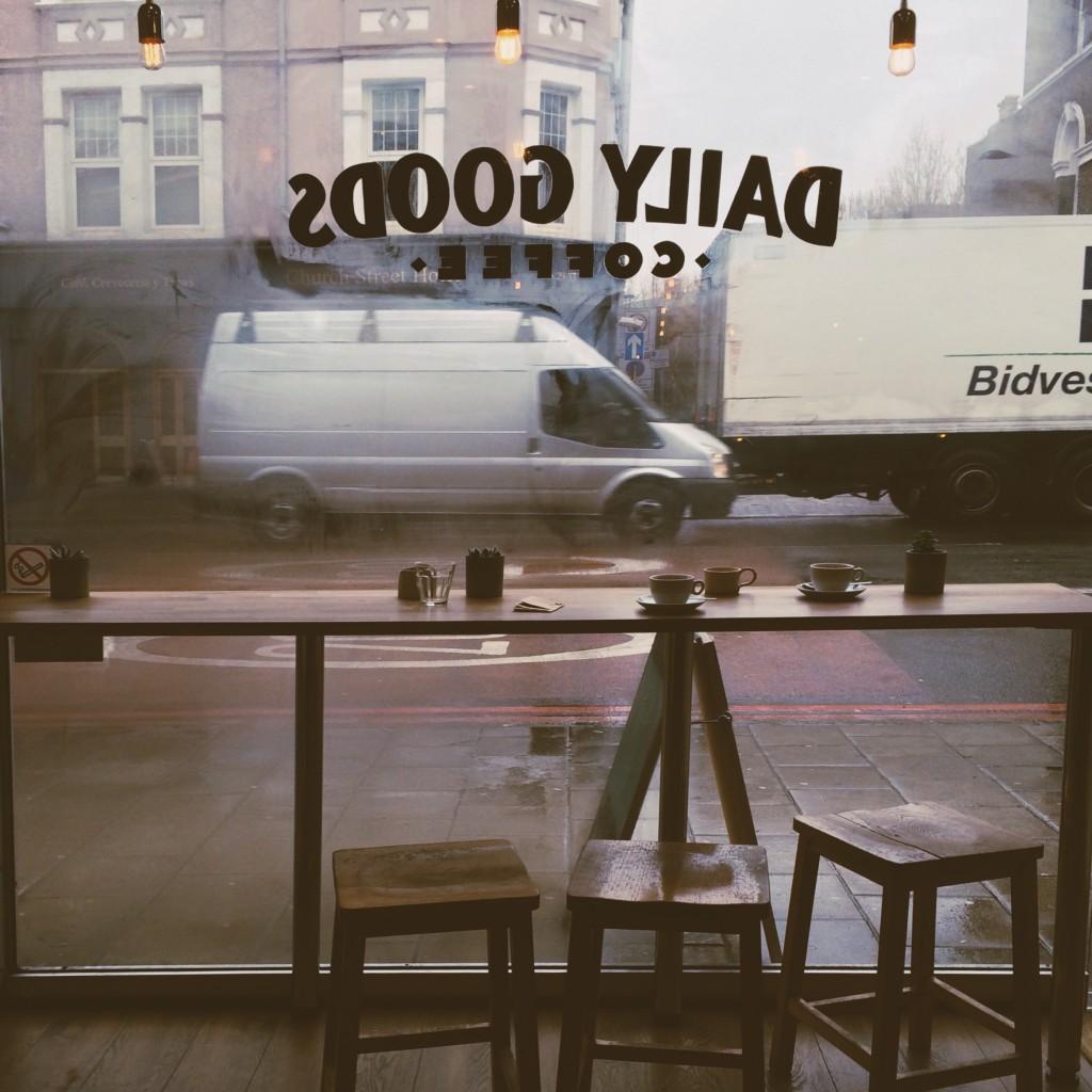 Daily Goods Coffee window