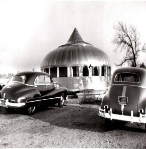 Dymaxion House, Wichita, Kansas, Buckminster Fuller, 1946